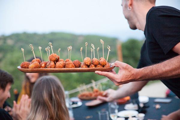Ideas para el catering y menú de la boda