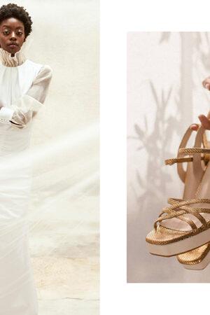 La constelación de Joyería Suárez, el vestido de novia ético de Gema Siveroni y los zapatos de Immaclé.
