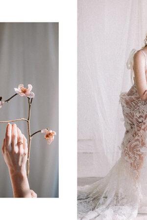 Dos looks para novias románticas y modernas en clave rosa de nuestra #editorialSara