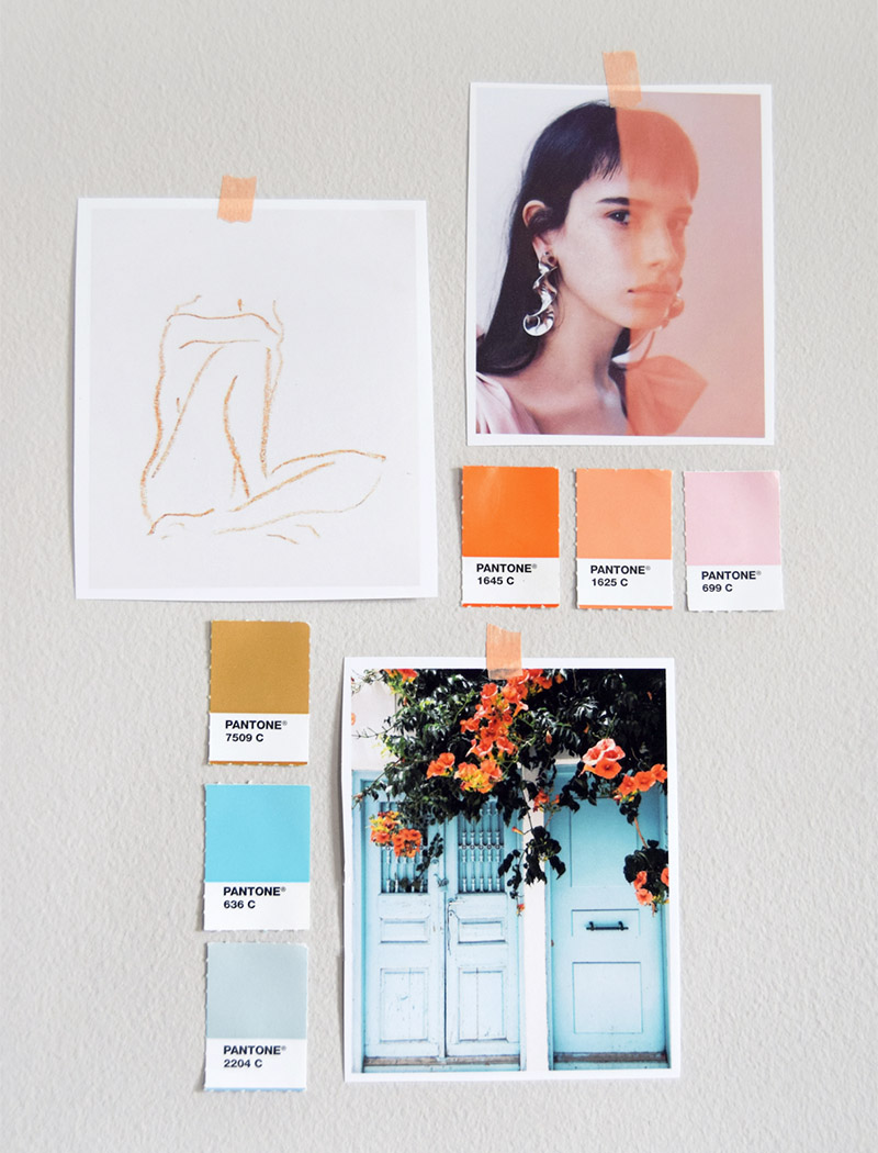 Wedding mood board inspiration.