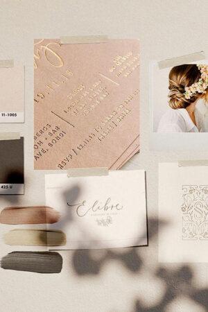 'Mood board', la técnica que te ayudará a encontrar la inspiración y el estilo de tu boda.
