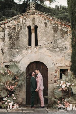 La bonita boda íntima, de inusual protocolo y mucho amor de Miquel e Imanol.
