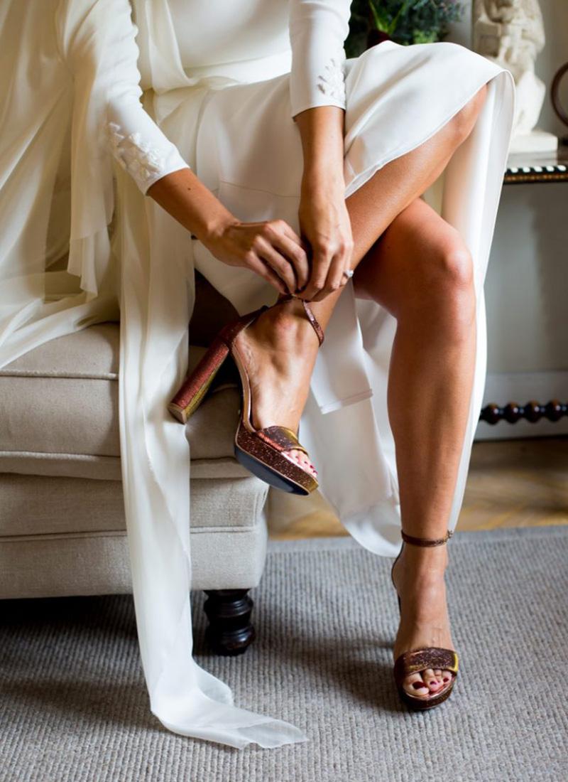 Zapatos para novias e invitadas.