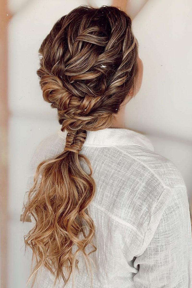 Explicación peinados con coleta para boda Fotos de cortes de pelo Consejos - 9 peinados con coletas para triunfar con tu look ...