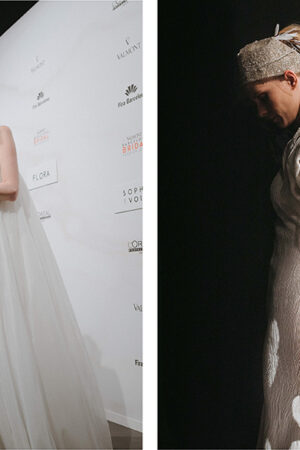 Isabel Zapardiez y Sophie et Voilà, dos nombres de la moda nupcial vasca y de las novias 2020.