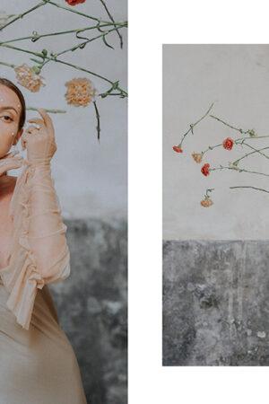 'Murmuri' organic beauty: inspiración para una novia alternativa con looks effortless (Parte I).