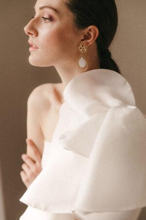 Los vestidos de novia con personalidad y glamour que encontrarás en la boutique Blanco de Novia.