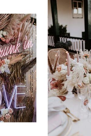 Luxury Rose, inspiración para una romántica 'small wedding' en Tenerife.