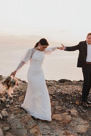 """Elopement wedding o boda de escapada, la tendencia en auge para darse el """"Sí quiero""""."""