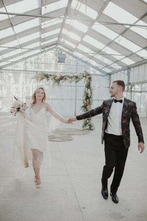 Ephemeral Love, inspiración para una boda alternativa en un invernadero.