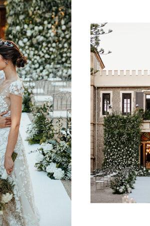 Un elegante jardín de ensueño es la propuesta de Eventos Bombón para inspirar tu boda.
