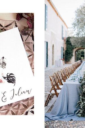 Las bodas mediterráneas de Pasión Eventos, el trabajo en iluminación de JBX.es y las invitaciones de boda online de BodaStyle.