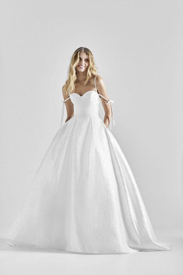 Vestido de novia de Hervé Moreau Couture – Tendencias de Bodas Magazine & Blog