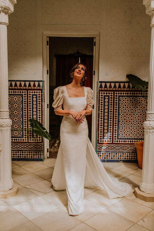 Vestido de novia de Lorena Merino – Tendencias de Bodas Magazine & Blog