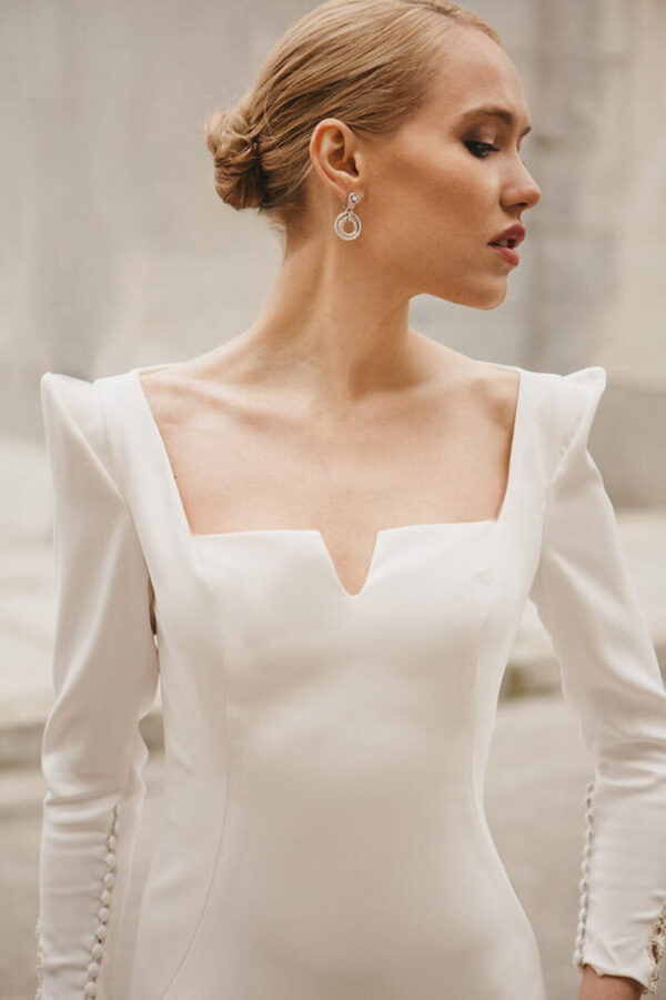 Vestido de novia de Lucia de Miguel – Tendencias de Bodas Magazine & Blog