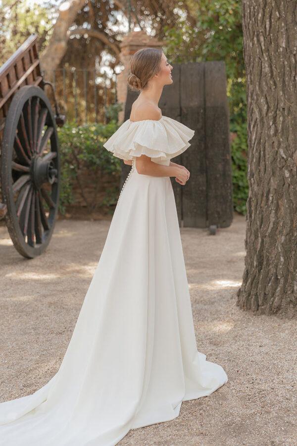 Vestido de novia de Maria Baraza – Tendencias de Bodas Magazine & Blog