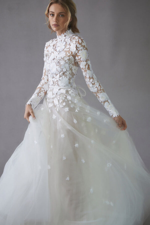 Vestido de novia de Oscar de la Renta – Tendencias de Bodas Magazine & Blog