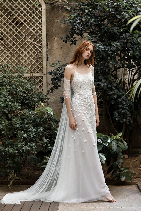 Vestido de novia de Santos Costura – Tendencias de Bodas Magazine & Blog